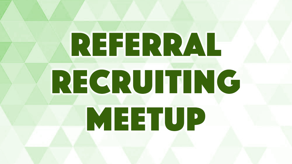 【メーカー限定】Referral Recruiting Meetup