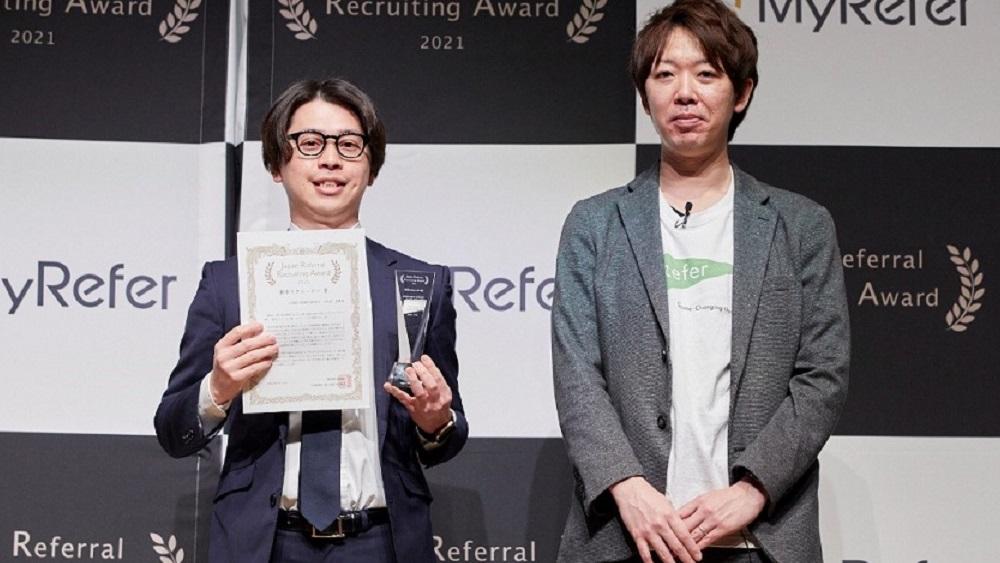 新卒リクルーター賞受賞 USEN-NEXT GROUP